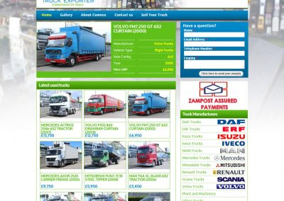 Comvex Truck Exporter