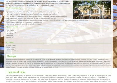 Eco Timber Frame Systems