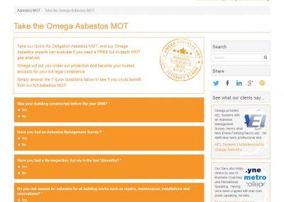 Omega Asbestos Consulting Ltd