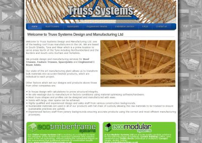 Truss Systems Design and Manufacturing Ltd