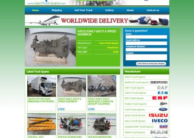 Used Truck Spares